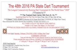 Flyer for 2016 PA State Tournament