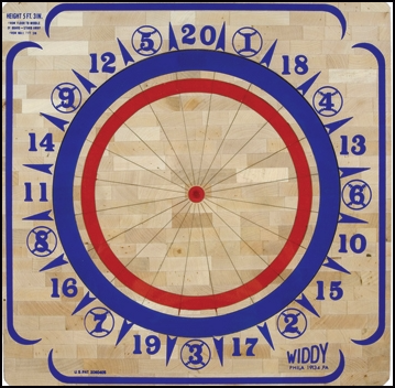 Baseball On An American Dartboard