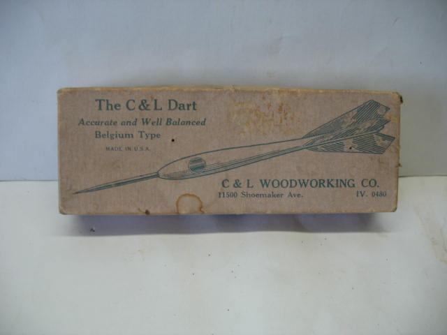 C & L Darts box