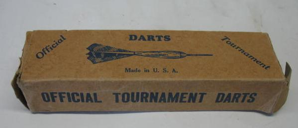 Champion Darts Blue box