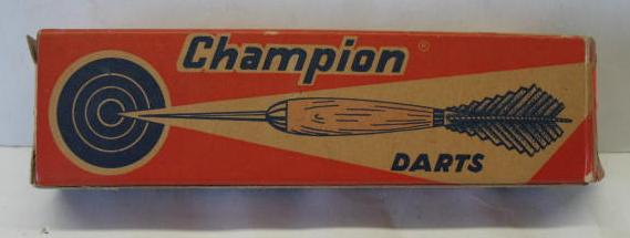 Multicolored Champion Dart Box