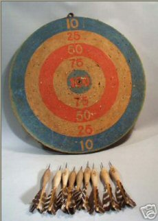 Vintage dartboards