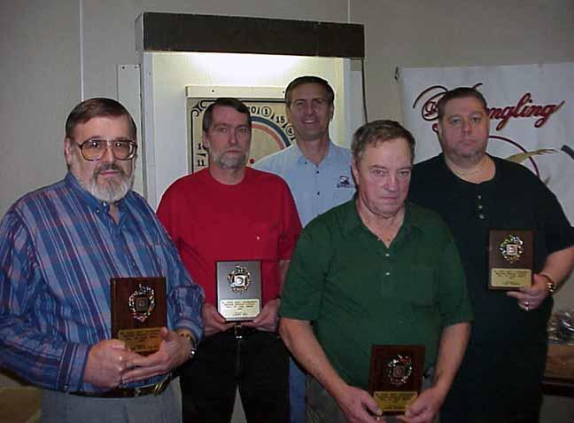 Frank DeFalco Sr., Larry Wiz, Jack Kranchick, John Harter, Lou Yeager