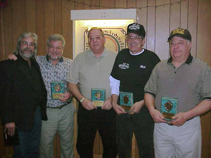 Joe Parsy, Jerry Umberger, Paul Slug Makarczyk, Rick Kingsfish Zerr, Lee Bredbenner
