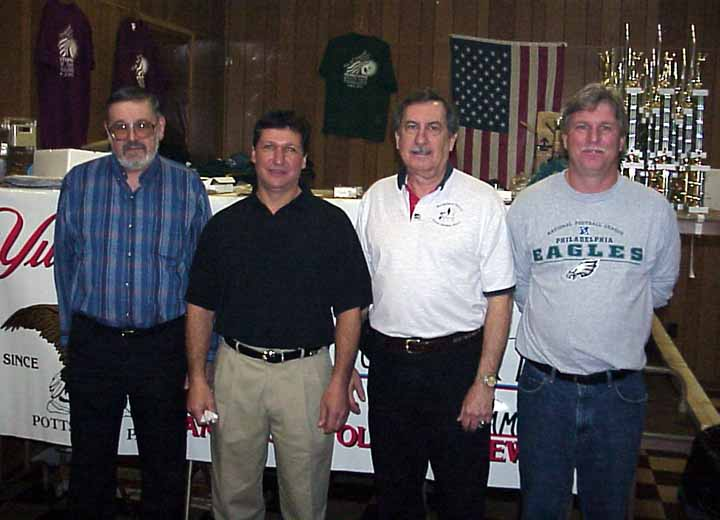Larry Sklaney, Dave Dibonifazio, Russel Sutton, and Joe Zacharrio