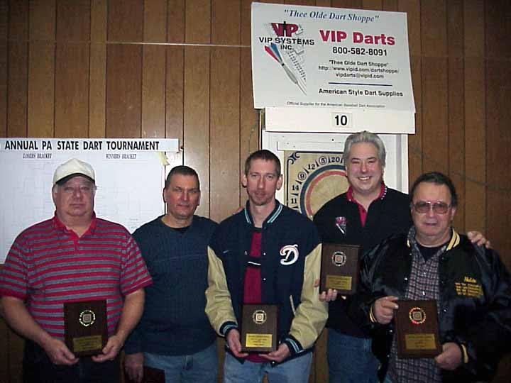 John Bobby,, Bob Ski, Greg Jones, Rich Desantis, Tom Shelly